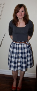 Picnic blanket skirt