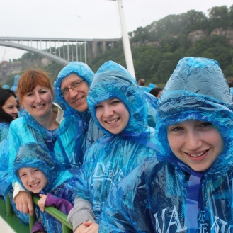 On the Maid of the Mist.
