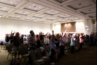 More worship!
